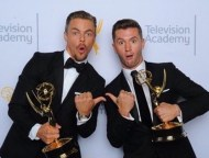 """This guy"" - Emmy Awards - September 12, 2015 Courtesy derekhough IG"